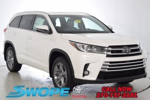 New Toyota Highlander Limited Platinum